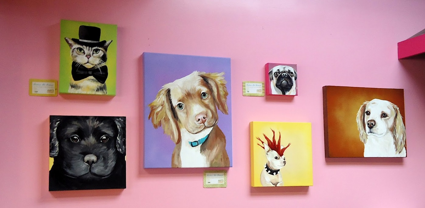 Custom Painted Pet Portraits by Amy's Creative Corner